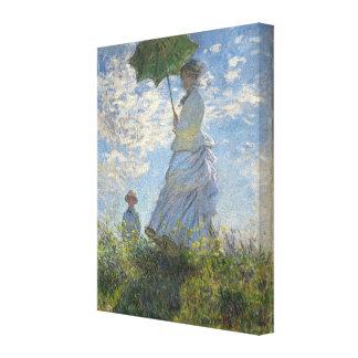Mujer de Claude Monet con una bella arte del