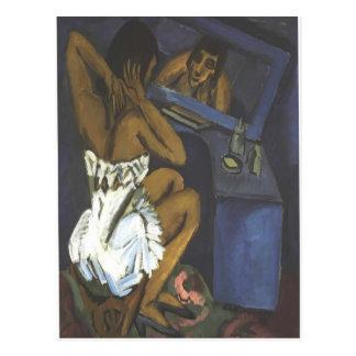 Mujer de Ernst Luis Kirchner- antes del espejo Postales