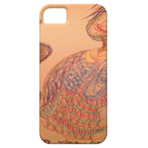 Mujer de Gorophahmmed iPhone 5 Case-Mate Cobertura