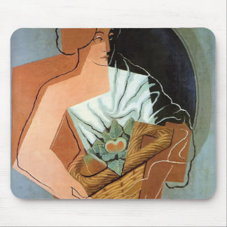 Mujer de Juan Gris- con la cesta Alfombrillas De Raton