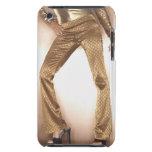 Mujer de la cadera en el baile del disco del oro barely there iPod fundas