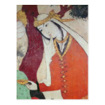 Mujer de la corte de Shah Abbas I, 1585-1627 Postal