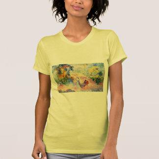 Mujer de la Cruz de Enrique-Edmundo en el parque Camiseta
