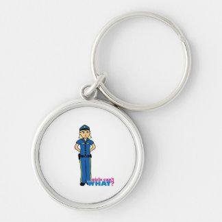 Mujer de la policía - luz/Blonde Llavero