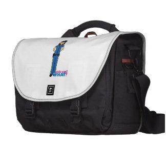 Mujer de la policía - medio bolsas para portátil
