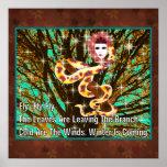 Mujer de la serpiente poster
