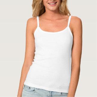 Mujer de las camisetas sin mangas del tirante de