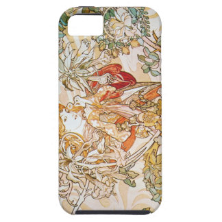 Mujer de Mucha con el caso del iPhone 5 de la iPhone 5 Carcasas