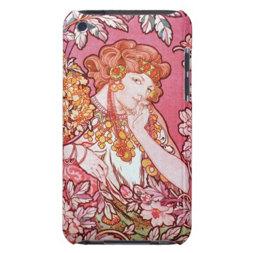 Mujer de Mucha entre la casamata del tacto de iPod Case-Mate iPod Touch Cárcasas