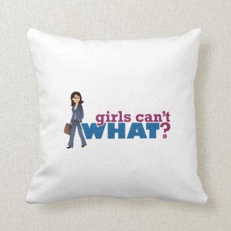 Mujer de negocios almohadas