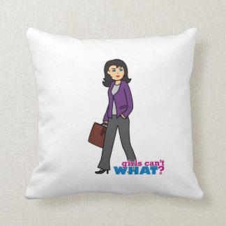 Mujer de negocios - medio cojin
