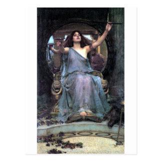 Mujer de ofrecimiento de Ulises de la taza del Wat Postales