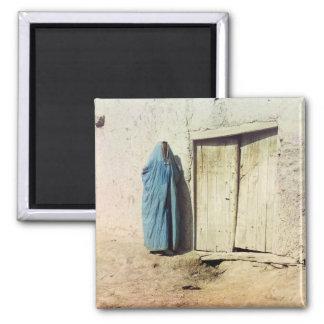 Mujer de Sart, Samarkand Imán Cuadrado