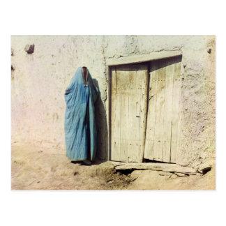 Mujer de Sart, Samarkand Postales
