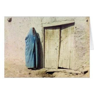 Mujer de Sart, Samarkand Tarjeta De Felicitación