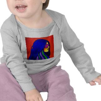 Mujer de Sunglass por Piliero Camisetas