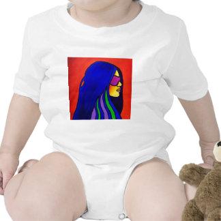 Mujer de Sunglass por Piliero Traje De Bebé