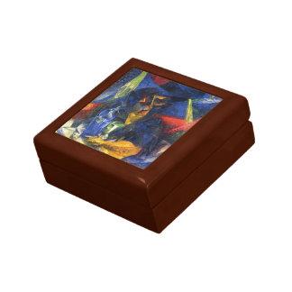 Mujer de Umberto Boccioni- en un Café Caja De Joyas