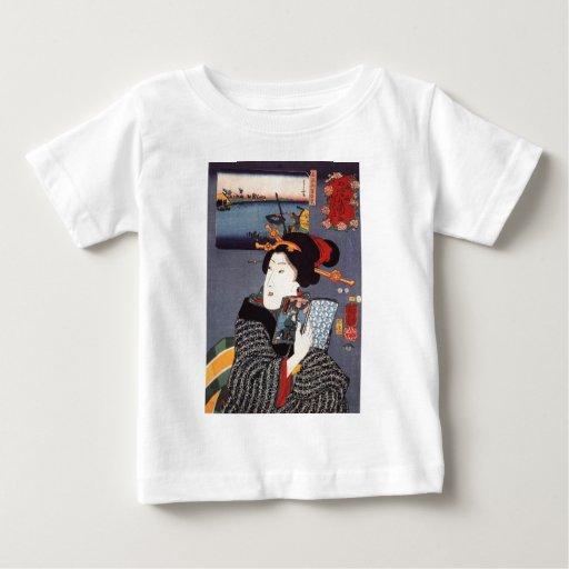 Mujer de Utagawa Kuniyoshi (12) T Shirts