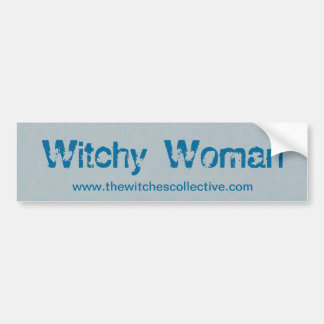 Mujer de Witchy Pegatina Para Auto