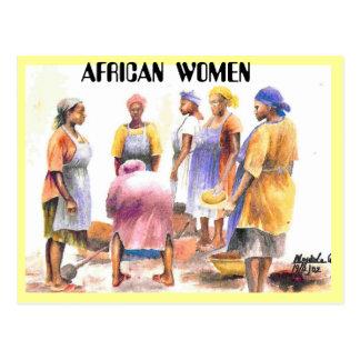 mujer del africano 2, MUJERES AFRICANAS Postales