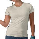 Mujer del americano del vintage camisetas