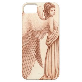 Mujer del ángel iPhone 5 carcasas