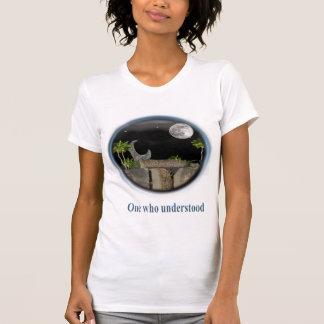Mujer del arte del castillo tshirts