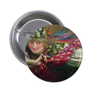 Mujer del baile de Ilya Repin Pins