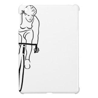 Mujer del ciclo iPad mini cárcasa