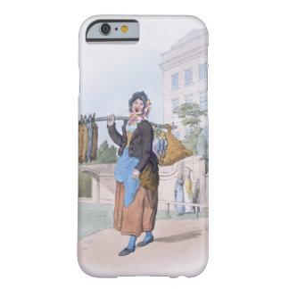 """Mujer del conejo, del """"traje de Gran Bretaña"""", pub Funda Para iPhone 6 Barely There"""