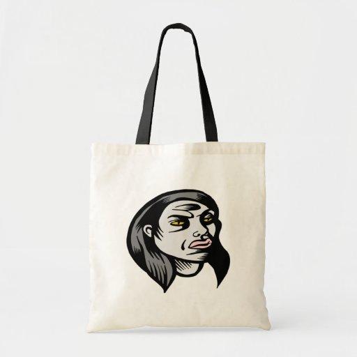 Mujer del espíritu necrófago bolsas de mano