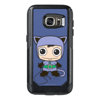Mujer del gato de Chibi Funda Otterbox Para Samsung Galaxy S7