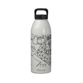 Mujer del hierro botellas de beber