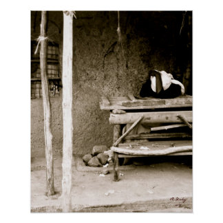 Mujer del Kenyan Póster