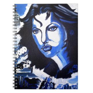 Mujer del mundo cuaderno