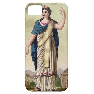 "Mujer del Patrician, no. 26 de ""Roma antigua"", eng iPhone 5 Protector"