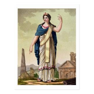 "Mujer del Patrician, no. 26 de ""Roma antigua"", Postales"