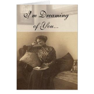 Mujer del Victorian Tarjetas