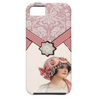 Mujer del vintage funda para iPhone SE/5/5s