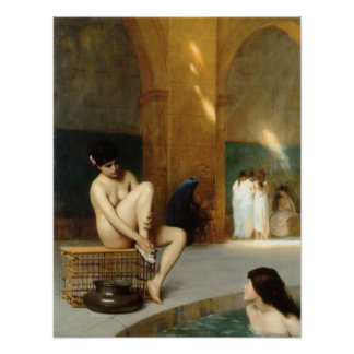 Mujer desnuda póster