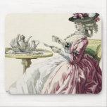 """Mujer elegante en un vestido """"un l'Anglaise"""" C de  Alfombrilla De Raton"""