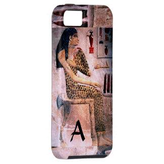 MUJER ELEGANTE MODA Y BELLEZA DE EGIPTO ANTIGUO iPhone 5 COBERTURAS