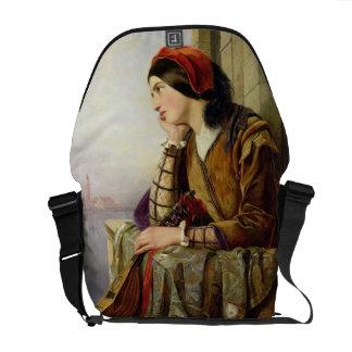 Mujer en el amor, 1856 bolsa de mensajeria