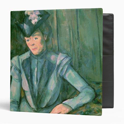 """Mujer en el azul 1900-02 carpeta 1 1/2"""""""