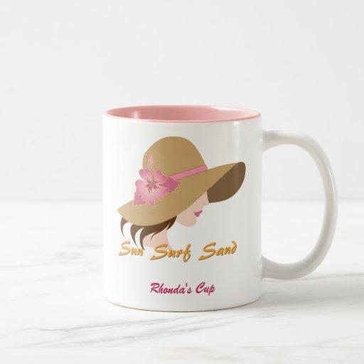 ¡Mujer en la taza del gorra - Cutsomize!