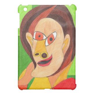 Mujer en rojo y amarillo