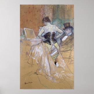 """Mujer en su retrete, estudio para """"Elles"""", c.1896 Póster"""