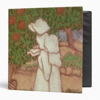 """Mujer en un vestido blanco, 1896 carpeta 1 1/2"""""""
