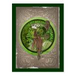 Mujer en verde - LAUREL